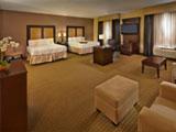 Hampton Inn and Suites Decatur Double Double Accessible Tub Suite