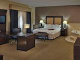 Hampton Inn and Suites Decatur Single King Studio Suite